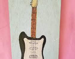Guitar Home Decor Guitar Home Decor Etsy