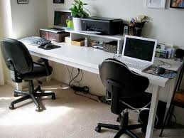Computer Desk For 2 Computer Desk For Two Users Best 25 Two Person Desk Ideas On