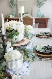 Beautiful Table Settings Elegant Black White And Green Farmhouse Table Setting For Fall