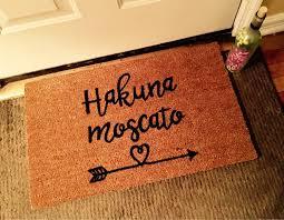 Funny Doormat by Hakuna Moscato Doormat Wine Doormat Funny Doormats Custom