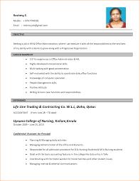 Resume Format Pdf Job by Job Cv Format Pdf Template