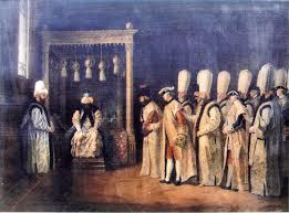 Ottoman Porte File Reception Ceremony Of The Conte De Priest At The