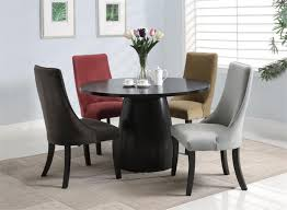 Luxury Wood Round Dining Tables Set Home And Dining Room - Designer round dining table