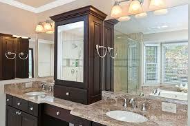 Bathroom Tower Cabinet Bathroom Vanity With Tower Bathroom Tower Cabinet Custom Bathroom
