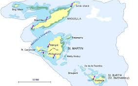 map of st martin map of st martin anguilla and st barts