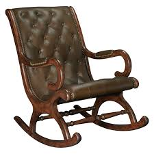 Leather Rocking Chair Indoor Rocking Chairs Modern Chairs Design