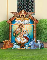 nativity sets indoor outdoor nativity display monastery icons