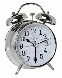 travel clock images A2s vintage style alarm clock twin bell analog battery jpg
