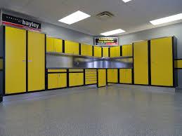 Yellow Metal Storage Cabinet Garage Garage Wall Storage Racks Hanging Garage Storage Cabinets