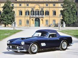 250 gt swb 1961 250 gt swb california spider by scaglietti review
