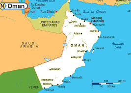 map of oman oman maps map tourist attractions location map of oman muscat