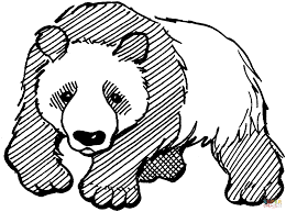 panda coloring page free printable coloring pages