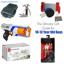 gift ideas for 10 to 13 year old boys