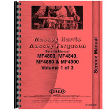 new massey ferguson 4880 tractor chassis service manual