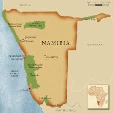 africa map kalahari desert when sand dunes meet the sea youngzine
