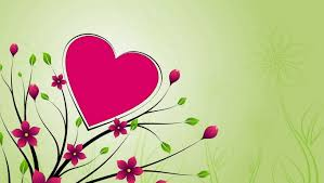heart design for powerpoint hearts flowers backgrounds presnetation ppt backgrounds templates