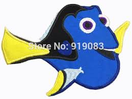 6 finding dory large felt applique embroidered sew on patch