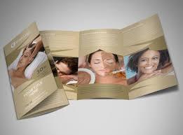 spa brochure template fashion conference salon flyer template