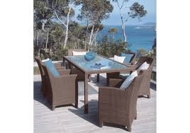Dedon Outdoor Furniture by Barcelona Rectangular Table Dedon Milia Shop