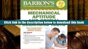 pdf barron s mechanical aptitude and spatial relations test 3rd