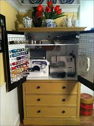 sewing armoire armoire turned sewing cabinet hometalk