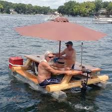 floating picnic table for sale awesome redneck moment the redneck pontoon picnic table