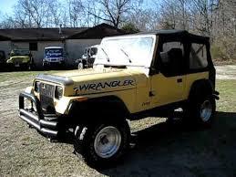 jeep wrangler 88 1988 jeep wrangler 4x4