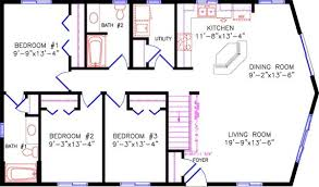 2 bedroom cottage floor plans cottage