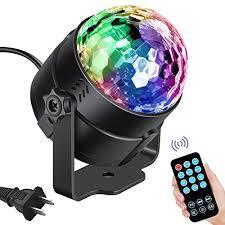 led disco ball light vnina disco ball party lights led disco lights strobe light dj dance
