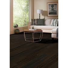 Click Lock Bamboo Flooring Home Legend Wire Brushed Oak Coffee 3 8 In Thick X 5 In Wide X
