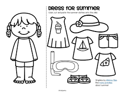 summer theme activities and printables for preschool pre k and