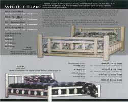 Cedar Bedroom Furniture Cabin Ranch U0026 Lodge Furniture Bedroom