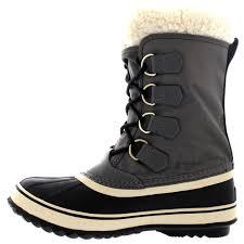 s waterproof boots uk womens sorel winter carnival duck winter wool waterproof
