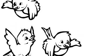 cute baby bird coloring pages pictures colour litle pups