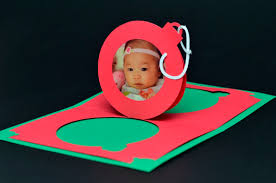christmas ornament pop up card template creative pop up cards