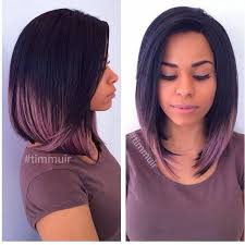 long bob with dipped ends hair unique color by hairbychantellen weave extensions extensions