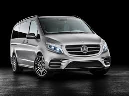 bmw minivan concept mercedes benz unveils v class plug in hybrid minivan