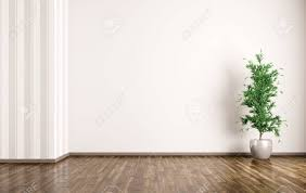 empty room pictures empty room interior background with plant 3d rendering stock photo