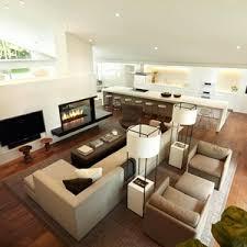modern open floor plans kitchen dining room open floor plan greatoncept living into modern