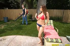 Backyard Milf Busty Milf Ariella Ferrera In Backyard Banging U2013 The Blog