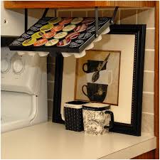 Under Cabinet Shelves by Under Cabinet Knife Storage Rack White Wire Under Shelf Storage
