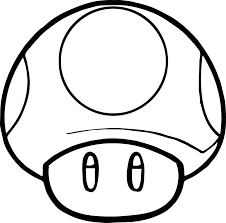 mario mushroom coloring pages coloring pages ideas