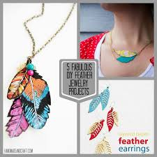 make feather earrings 5 diy feather jewelry projects on handmadeandcraft jpg