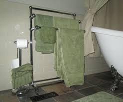 hotel towel rack for bathroom