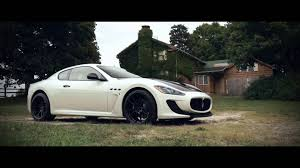 stanced maserati granturismo 877 544 8473 20 inch rohana rf2 all black wheels maserati