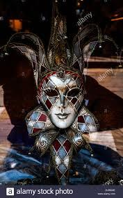 venetian jester mask traditional venetian chequered jester carnival mask veneto italy