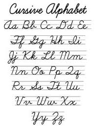 printable cursive letters crna cover letter