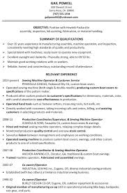 Resume For Forklift Operator Production Operator Resume Choose Machine Operator Resume