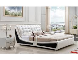 White Platform Bed Frame Black And White Platform Bed