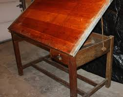 Antique Drafting Table Drafting Table Etsy
